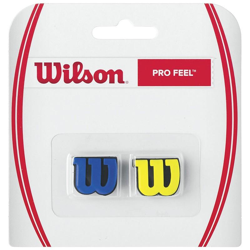 Wibrastop Wilson Pro Feel Blue-Yellow