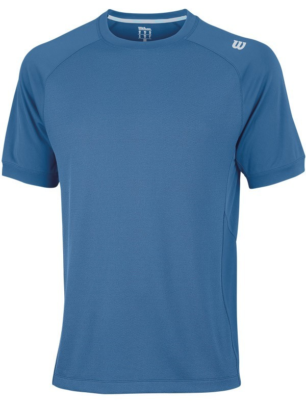 Koszulka tenisowa Wilson Two Tone Knit Crew - wyprzedaż!!