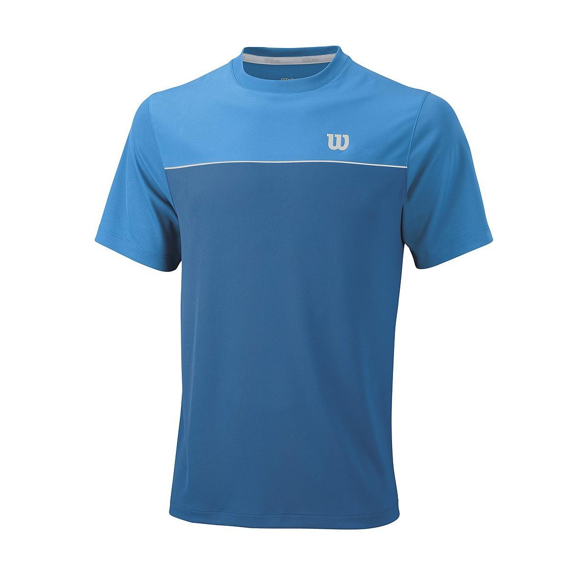 Koszulka tenisowa Wilson Star Bonded Crew - Wyprzedaż!