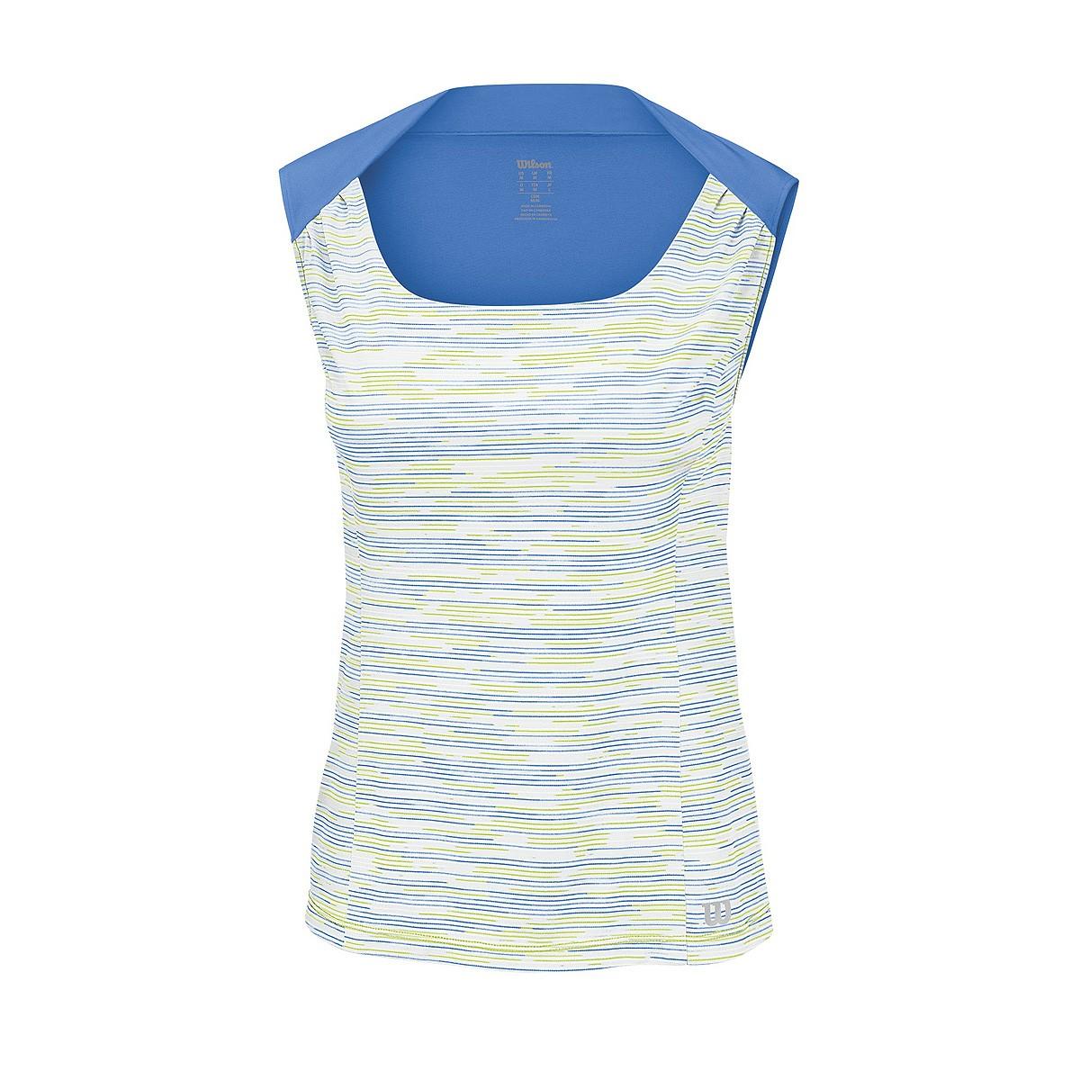Koszulka tenisowa damska Wilson Star Striated Tank - wyprzedaż!