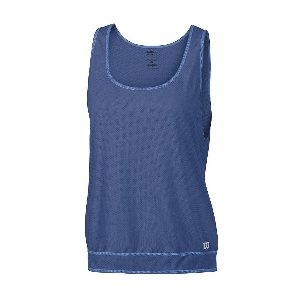 Koszulka tenisowa damska Wilson Spring Mesh Tank - wyprzedaż!