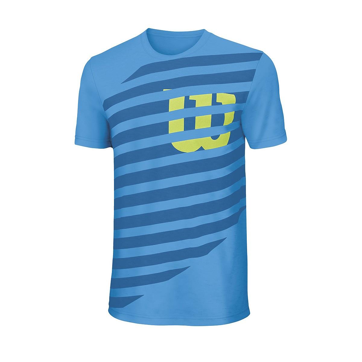 Koszulka tenisowa chłopięca Wilson Boys Lined Tech Tee - wyprzedaż!