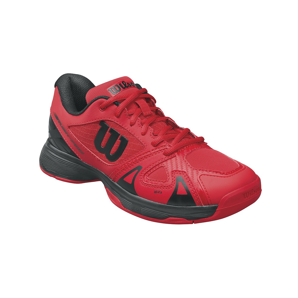 Buty tenisowe Wilson Rush Pro 2.5 Junior Red - Wyprzedaż!