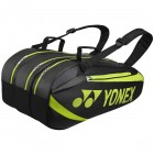 Torba tenisowa Yonex Tournament Active Bag 9 Black / Lime