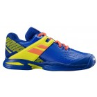 Buty tenisowe Babolat Propulse Junior CL Blue / Fluo Aero