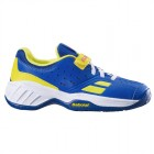 Buty tenisowe Babolat Pulsion Kid Blue / Fluo Aero -40%