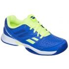 Buty tenisowe Babolat Pulsion Junior Blue - Wyprzedaż!