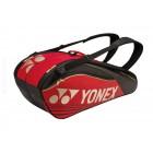 Torba tenisowa Yonex Pro Thermobag 6 Red