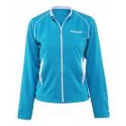 Bluza tenisowa damska Babolat Jacket Match Core Torquoise