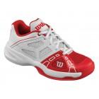 Buty tenisowe Wilson Rush Pro Junior Red - wyprzedaż!