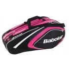 Torba tenisowa Babolat Club Line Racket Holder 12 pink