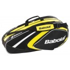 Torba tenisowa Babolat Club Line Racket Holder 6 yellow