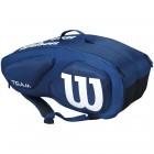 Torba tenisowa Wilson Team Navy 9 Pack - wyprzedaż!